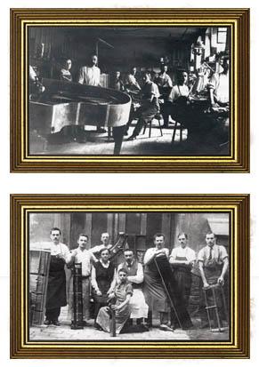 第一代WENDL&LUNG(文德隆): 由Stefan Lung先生(1876-1954)和Auguste Lung女士 (1883-1966)开创。